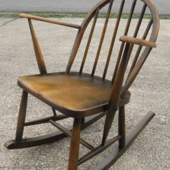 Affordable Rocking Chair Karlstad Cover Isunda Gray Elm Childs Armchair By Ercol